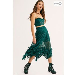 Free People Intimates & Sleepwear - NWT Free People Evergreen Party Fever Set-Small
